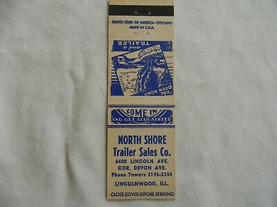 Lincolnwood Illinois Cook County trailer sales low # phone 2196 matchbook