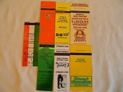 Orland Park Illinois Cook County businesses matchcovers matchbooks