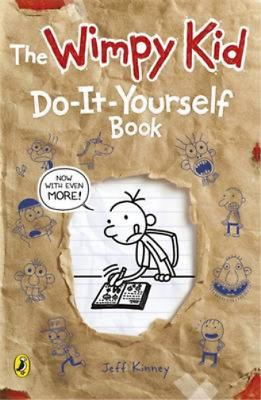 Diary of a Wimpy Kid: Do-It-Yourself Book, Jeff Kinney, Used; Good Book
