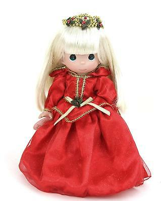 """Precious Moments Disney Parks Exclusive Christmas Sleeping Beauty 12"""" Doll"""