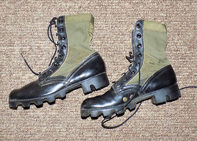 1968 Vietnam US Army Spike Protective Jungle Combat Boots Sz 6N ARVN