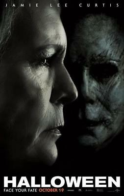 "Horror 2018 Film Halloween Movie Poster Laurie Strode Art 13x20"" 24x36"" 27x40"""