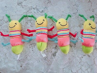 Baby Rattle Cartoon Animal Bed Bell Hand Bell Soft Plush Toys AU
