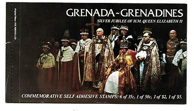 HICK GIRL STAMP- MNH.  GRENADA-GRENADINES  STAMP BOOKLET  SC#217a-220a