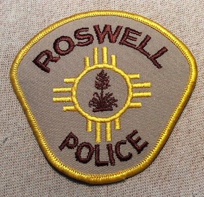NM Roswell New Mexico Police Patch