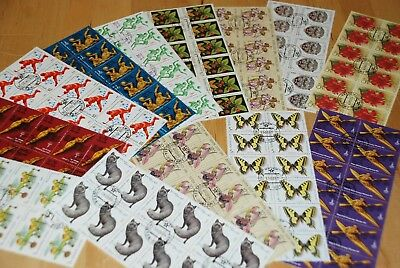 Russia = Stamps Collection Blocks of 12 = DEALER LOT