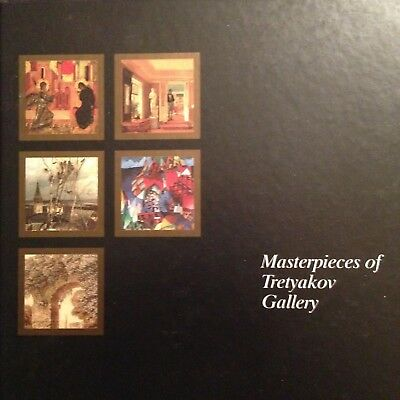 Masterpieces of the Tretyakov Gallery - 1994 - English Edition - Moscow, Russia