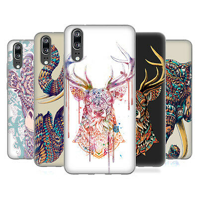 Official Bioworkz Coloured Animal Head 1 Soft Gel Case For Huawei Phones