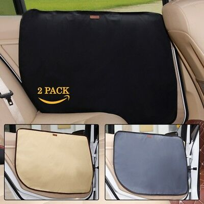 Waterproof Dog Car Seat Cover for Cat Pet Door Van Back Rear Seat Door Protector