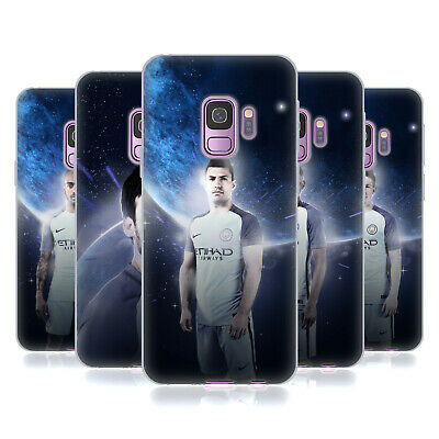 Official Manchester City Man City Fc Power Players Gel Case For Samsung Phones 1