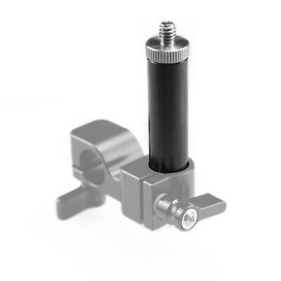 "SmallRig Mini Rod 2.5 Inch with 1/4"" Screw for 15mm rod clamp Aluminum Alloy"
