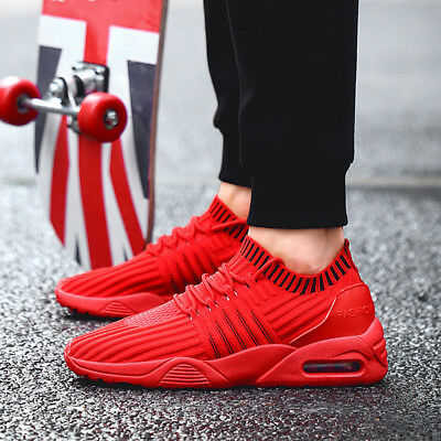 2018 New Sports Trainers Casual Shoes Student air cushion Men's Running Shoes