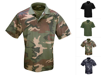 Commando Tactical Funktions Poloshirt QuikDry M-XXL Army Style Sportshirt