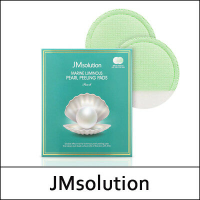 [JMsolution] JM solution Marine Luminous Pearl Peeling Pads Pearl 7g * 10ea / S둘