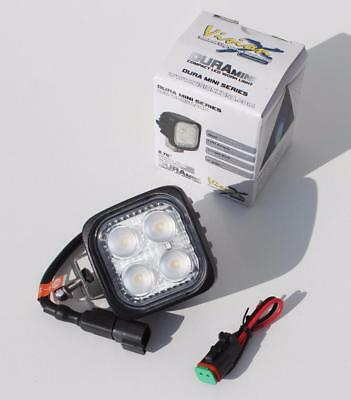 Vision X Dura-Mini 2000 lumen LED 60° flood work lamp/light IP69K waterproof 12W
