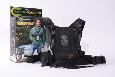 Used Cotton Carrier Camera Vest Holster System 1 Camera 635 RTL-S DSLR Chest ...