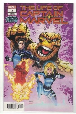 The Life Of Captain Marvel #2 - Humberto Ramos Fantastic Four Variant Cover 2018