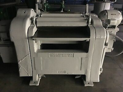 Baxter D Whitney No. 97 dual sided planer 36""