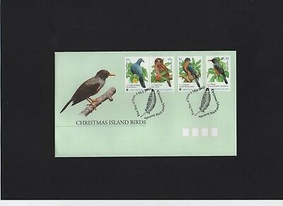 2002 Christmas Island Birds First Day Cover
