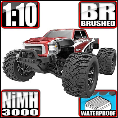 Redcat Dukono 1/10 Off-Road 4WD Monster Truck RTR Red 94701H10-H10-R