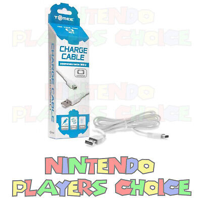 USB Charger Charging Cable DATA SYNC For The Nintendo WII U Gamepad Controller