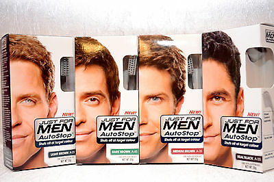 Neuf Just For Men Autostop Foolproof Coloration Cheveux