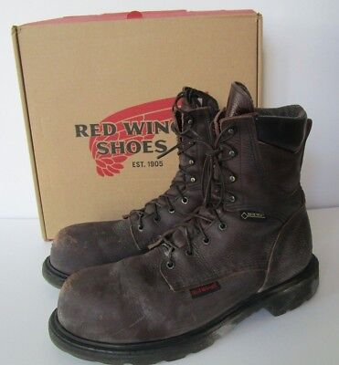 1b4b039b941 RED WING SHOES MEN'S Electrical Work Boots Size 13E Steel Toe Waterproof  2414