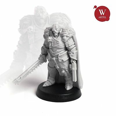 """28mm wargaming and collectible miniature, Jack """"Captain Blood"""" Meinhardt"""