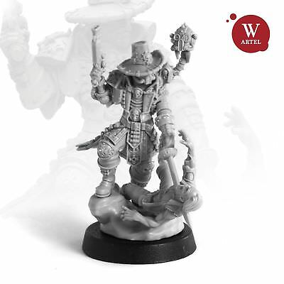 """28mm wargaming and collectible miniature, Witch-Hunter by """"W"""" Artel"""