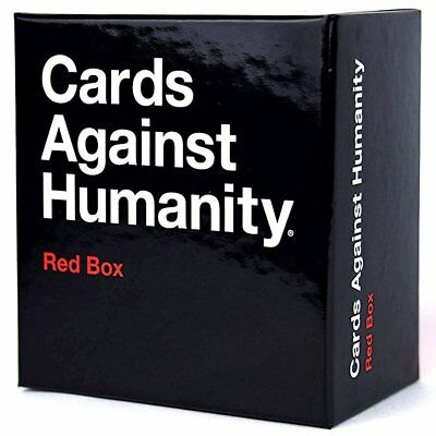 2017 New Cards Against Humanity - Red Box Contains 1st, 2nd, 3rd Expansions