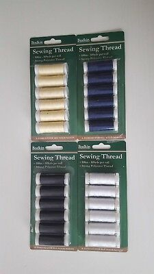 3000 Metres  polyester sewing cotton 30 reels x 100m