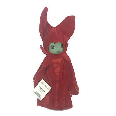 """Precious Moments Disney Parks Exclusive Christmas Blessing Maleficent 12"""" Doll"""