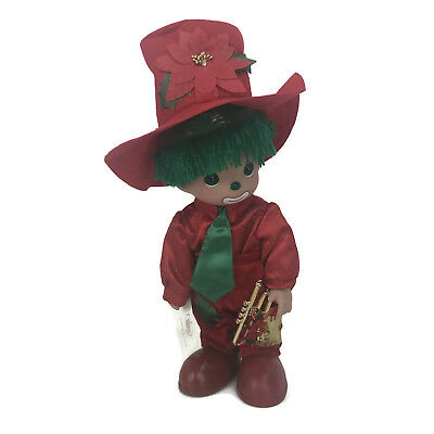 """Precious Moments Disney Parks Exclusive Christmas Blessing Hobo 12"""" Boy Doll"""