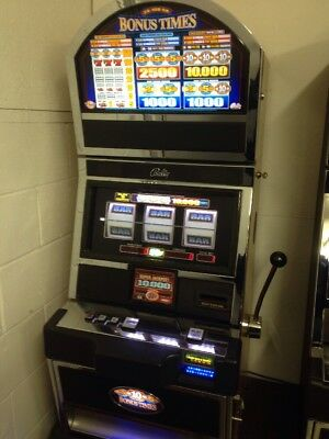 Bally Alpha Bonus Times SLOT MACHINE Freight Shipping Available