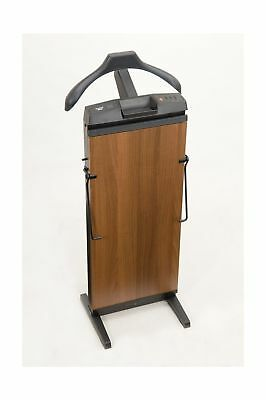 CORBY 7700 Trouser Press. 15, 30 & 45 Minute Timer. Walnut Wood Effect Finish...