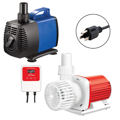 925-2245 GPH External Water Pump Hydroponics Pool Pond Aquarium Fountain JAJALE