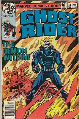 Ghost Rider Bronze Age Lot #34,35,37,42,48,49 1978 Marvel Comics