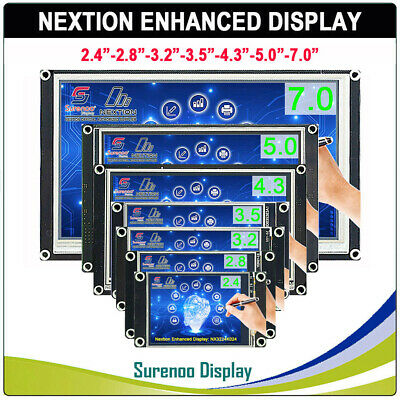 Nextion Enhanced HMI Intelligent Smart USART LCD Module Display w/ Touch Panel