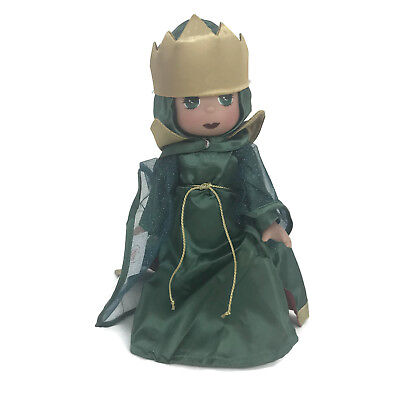 """Precious Moments Disney Parks Exclusive Christmas Traditions Evil Queen 12"""" Doll"""