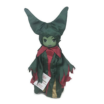 """Precious Moments Disney Parks Exclusive Christmas Traditions Maleficent 12"""" Doll"""