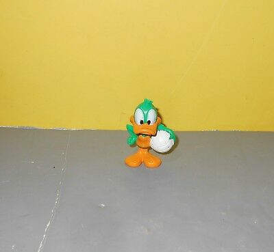 1997 PLUCKY DUCK Volleyball Tiny Toons Adventure PVC Figure Cake Topper Warner