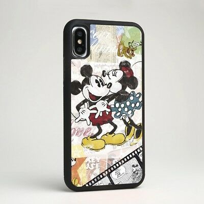 Disney Cartoon Mickey Mouse Minnie Case Cover for iPhone Samsung Galaxy Note 9