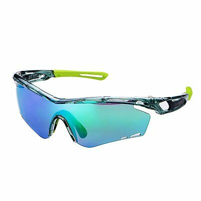 Polarized Sports Sunglasses With 2 Interchangeable Lenes for Cycling Running