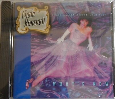 Linda Ronstadt & Nelson Riddle Orchestra - What's New (CD Asylum) Brand NEW