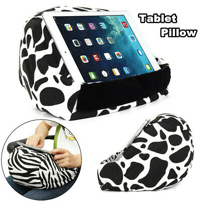 AU Tablet Pillow Stand For iPad Phone Book Read Holder Rest Lap Stand Cushion