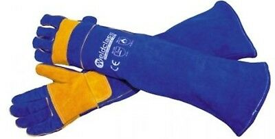 Welding PROMAX Blue XC Shoulder Length Gloves (Left & Right Pair) 24 Pairs