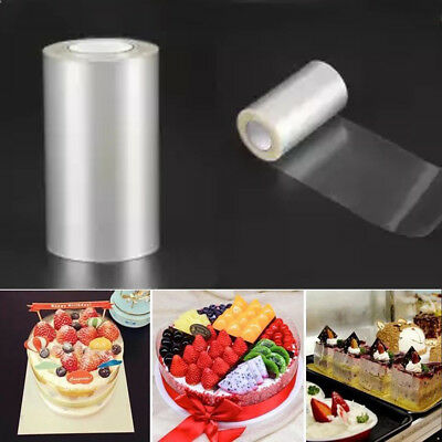 1 Roll Transparent Cake Collar Kitchen Acetate Cake Chocolate Candy For Baking