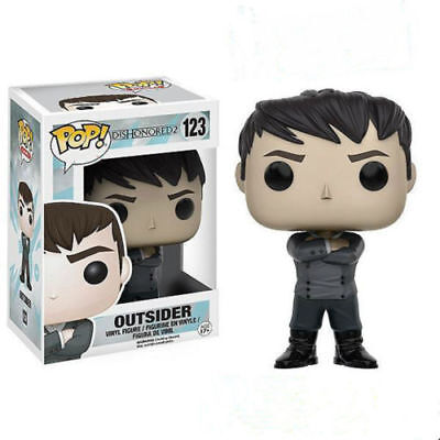 New  Funko POP ! Games Dishonored 2 Outsider #123 Vinyl Action Figure Toy