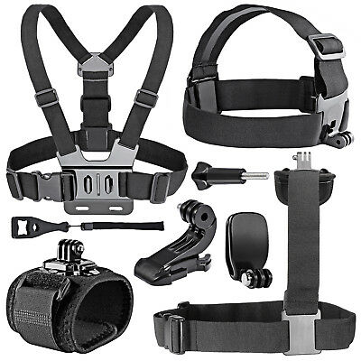 Neewer 7-In-1 Essential Outdoor Sport Accessory Kit for GoPro Hero 1 2 3 3+ 4