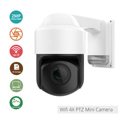 1080P 2MP WiFI PTZ Outdoor IP Camera 2.8-12mm Auto-focus Waterproof Night Vision